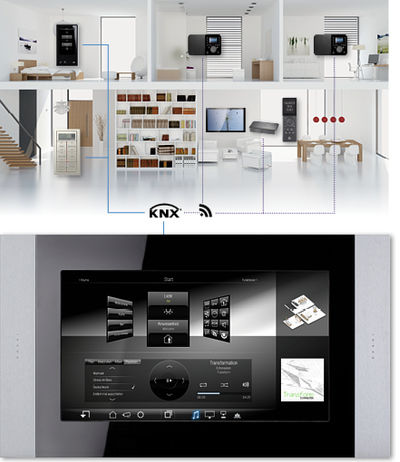 Smart Home Integrated Control by Tektronz