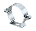 Cable and pipe spacer clip 733