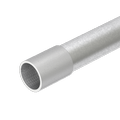 Hot-dip galvanised steel pipe, with thread