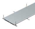 Trunking unit, blank, height 40−70 mm