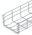 Cable basket / Mesh cable tray GR-Magic® 105mm