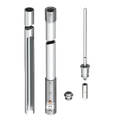 isFang insulated interception rod for inner-routed isCon cable with side exit